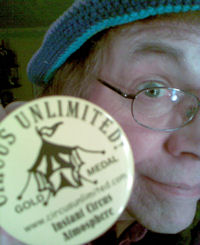 A Circus Olympic Gold Medal from CIRCUS UNLIMITED!